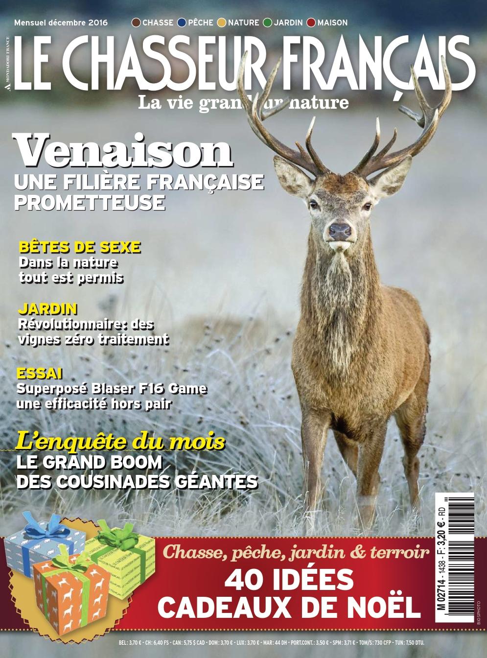 Le Chasseur français 1438 - Décembre 2016