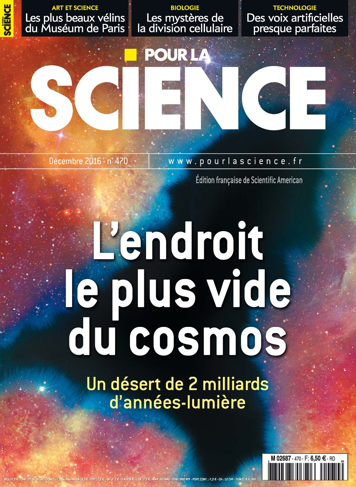 Pour la Science 470 - Décembre 2016
