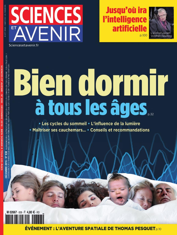 Sciences et Avenir N°838 - Décembre 2016