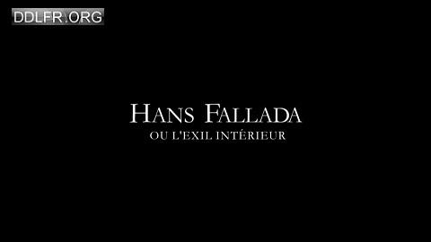 Hans Fallada ou l'exil intérieur