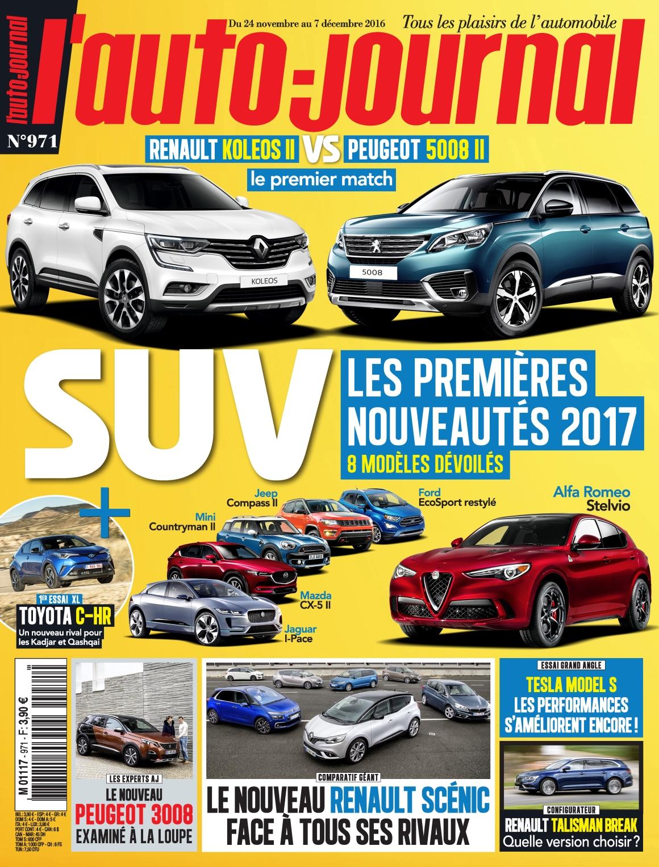 L'Auto-Journal 971 - 24 Novembre au 7 Décembre 2016