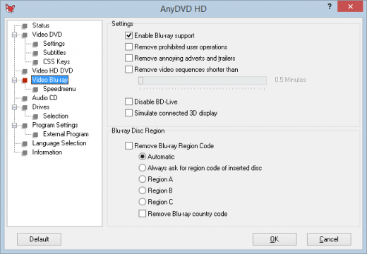 Resultado de imagen para RedFox AnyDVD HD