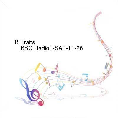 HDTV-X264 Download Links for B.Traits_-_BBC_Radio1-SAT-11-26-2016-TALiON