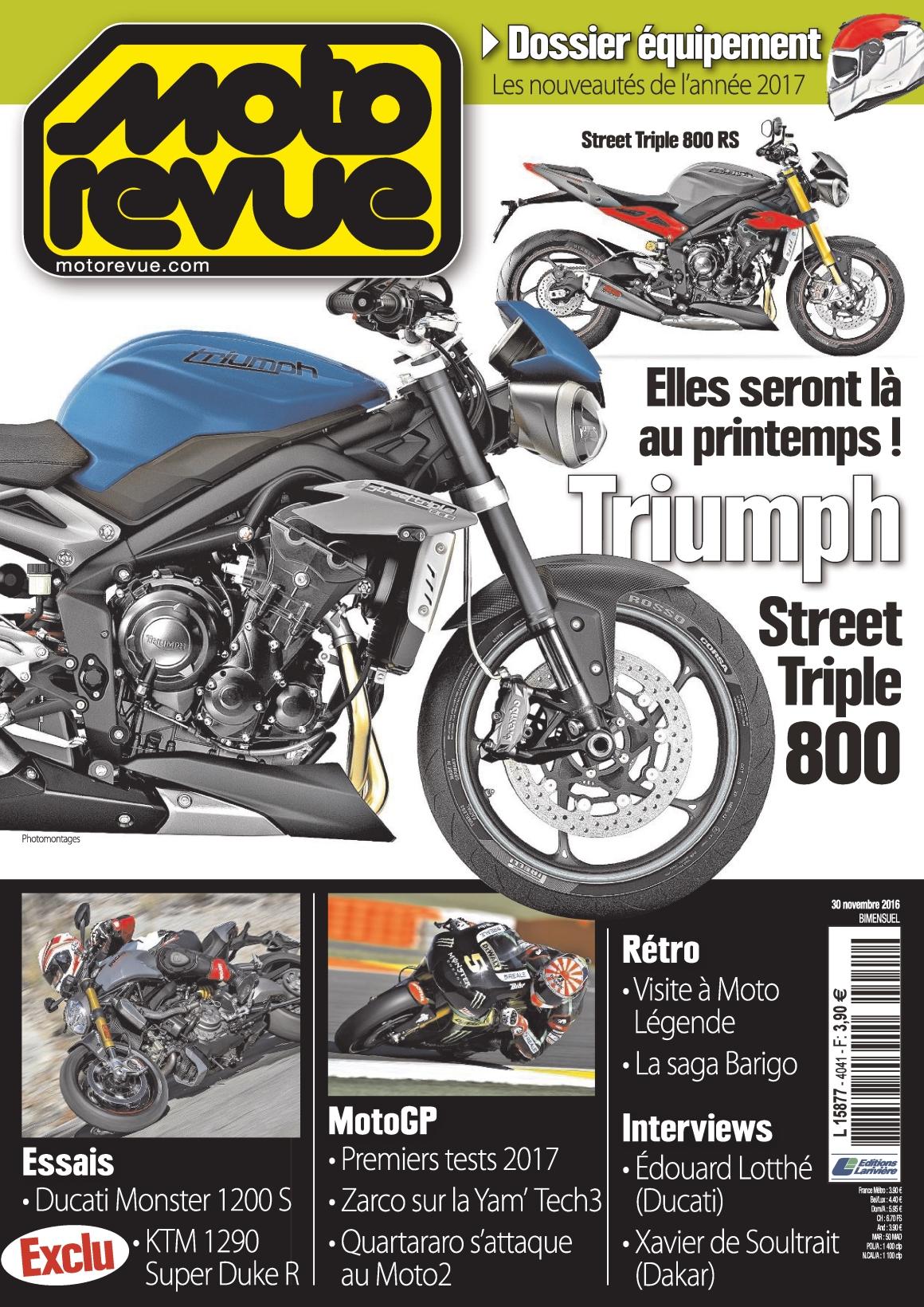 Moto Revue 4041 - 30 Novembre 2016