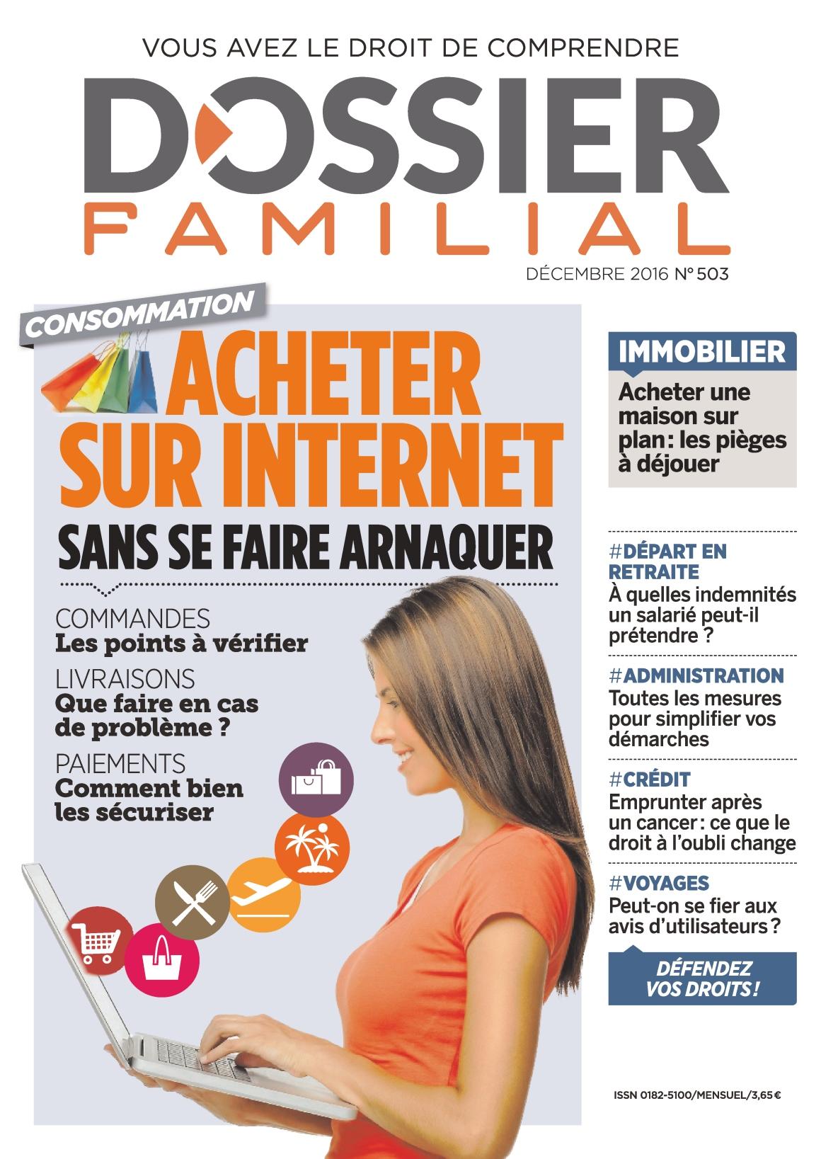 Dossier Familial 503 - Décembre 2016
