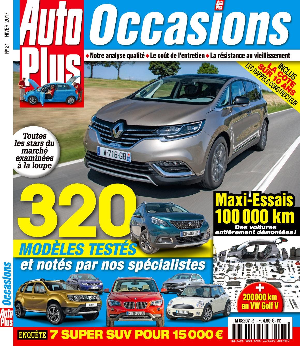 Auto Plus Occasions 21 - Hiver 2017