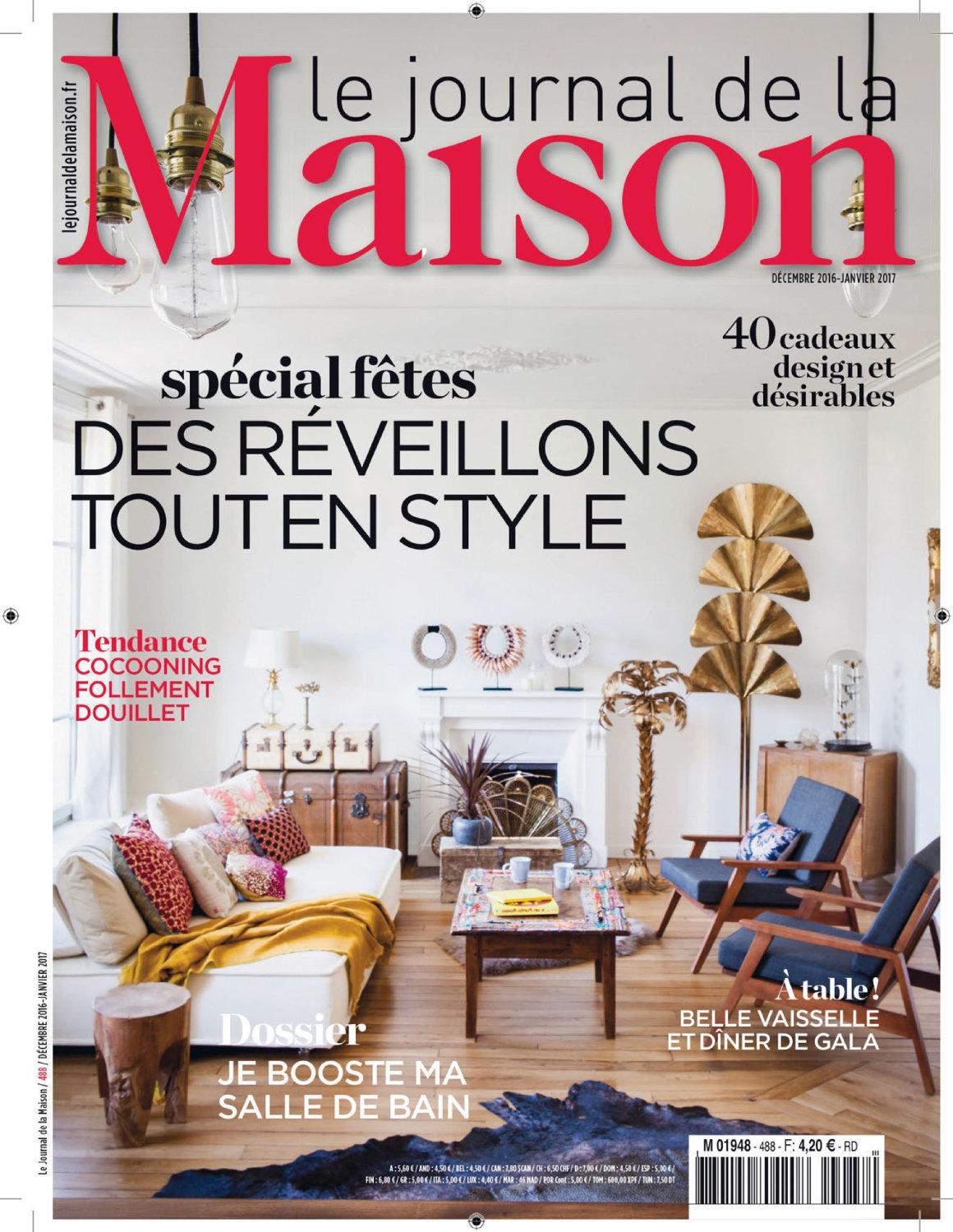 Le Journal de la Maison N°488 - Décembre 2016 / Janvier 2017