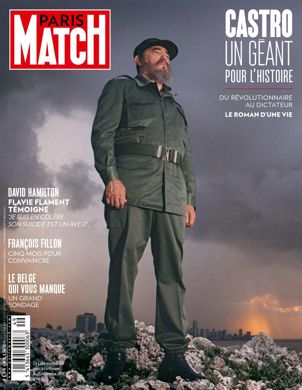Paris Match Belgique N°795 - 1 au 7 Décembre 2016