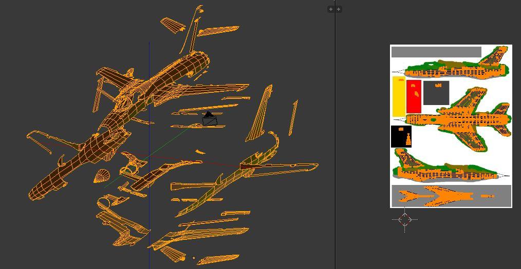 Comment texturer un camouflage avec Blender ? 161206050104388716