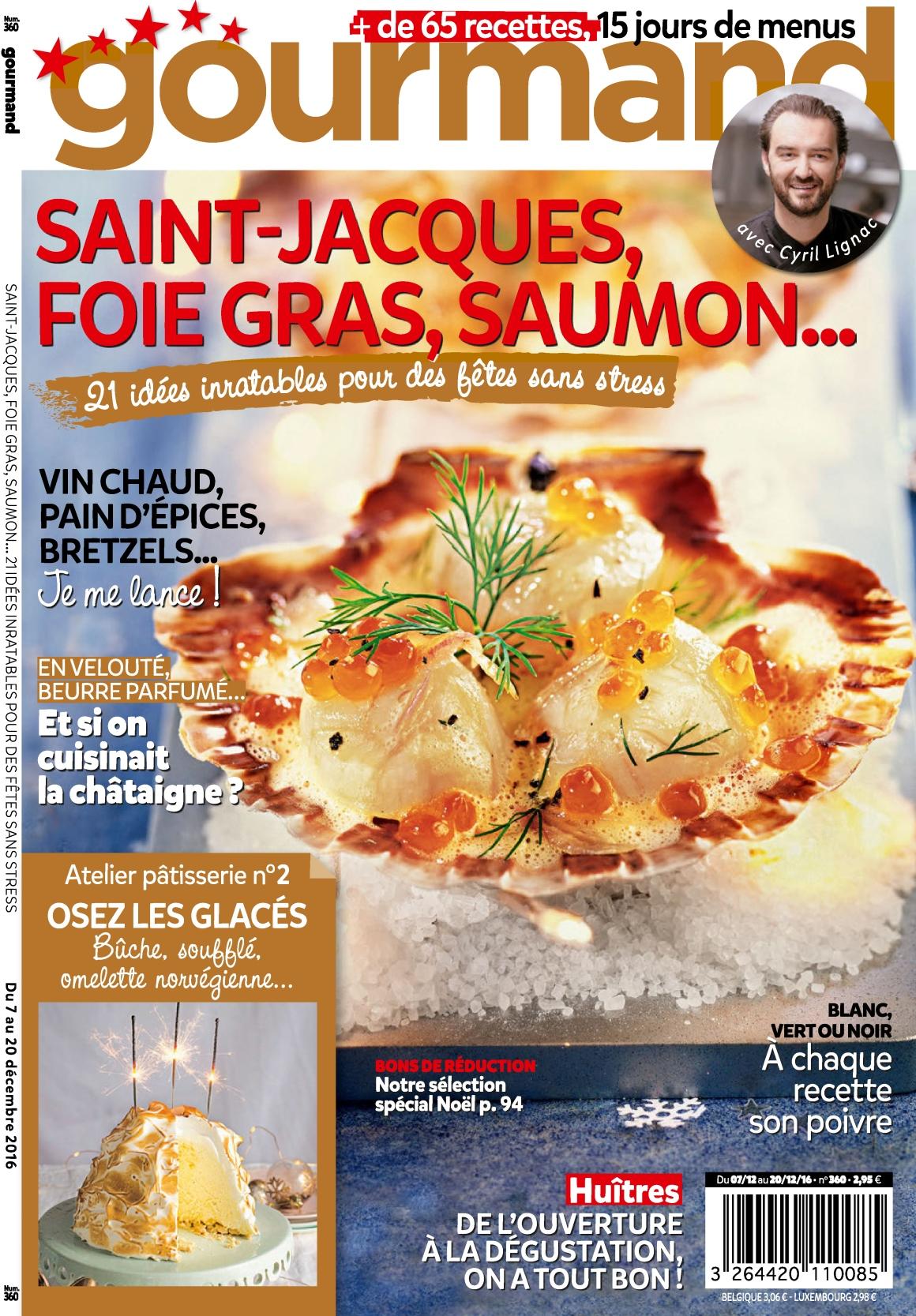 Gourmand N°360 - 7 au 20 Décembre 2016