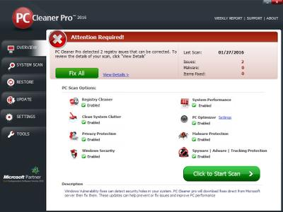 PC Cleaner Pro 2016 14.0.16.12.7 + Crack