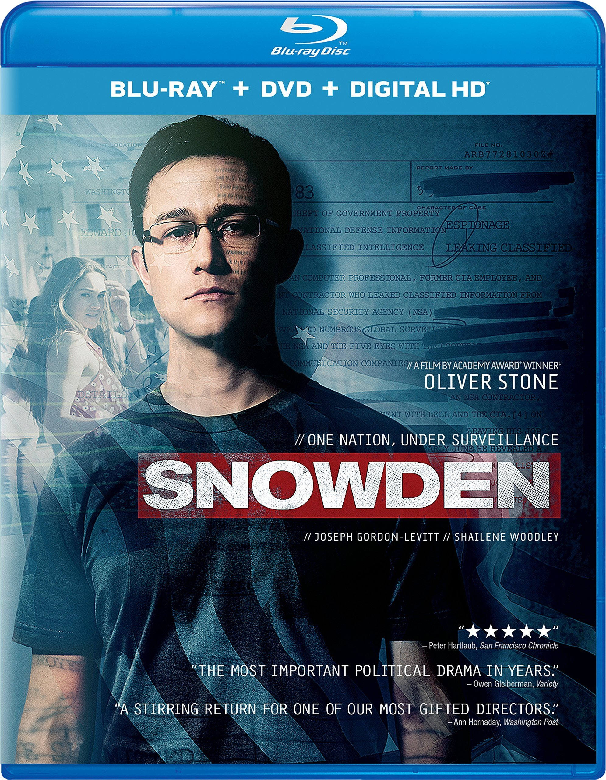 Snowden (2016) poster image