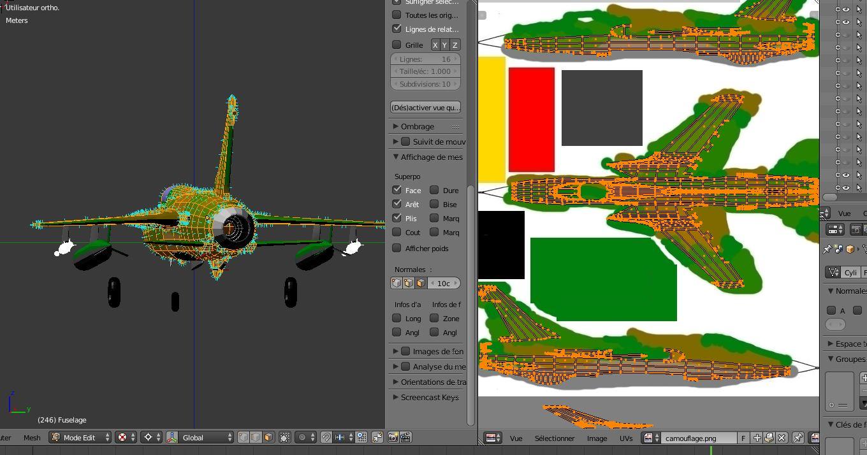 Comment texturer un camouflage avec Blender ? 161212112536891612