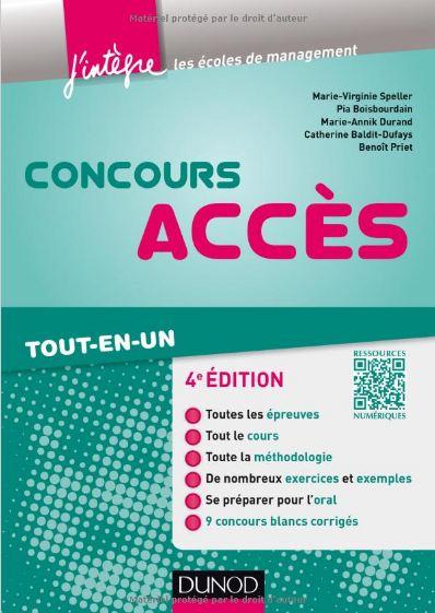 télécharger Concours Accès - 4e édition