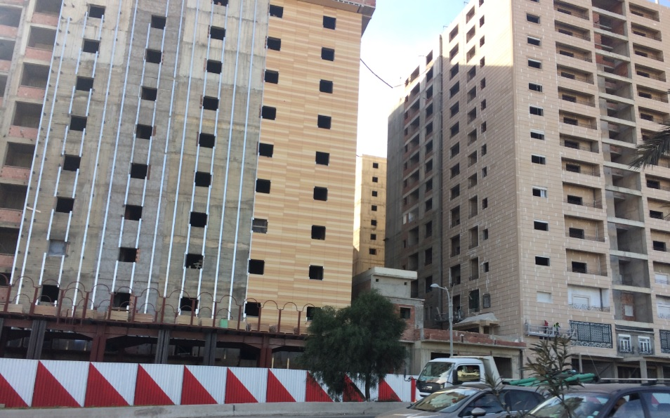 Algiers Bir Mourad Rais Multimodal Station Under Construction