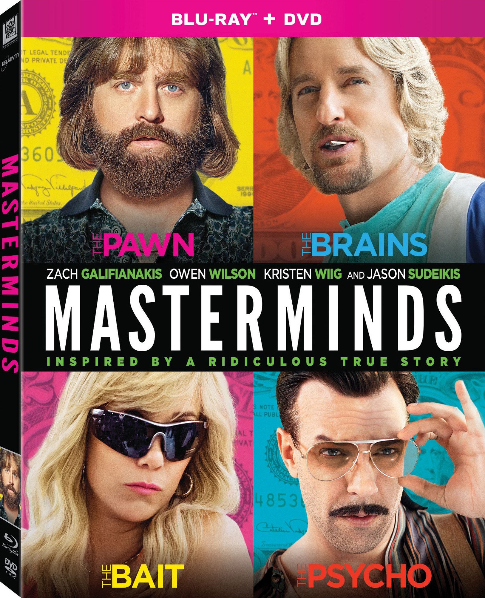 Masterminds (2016) poster image