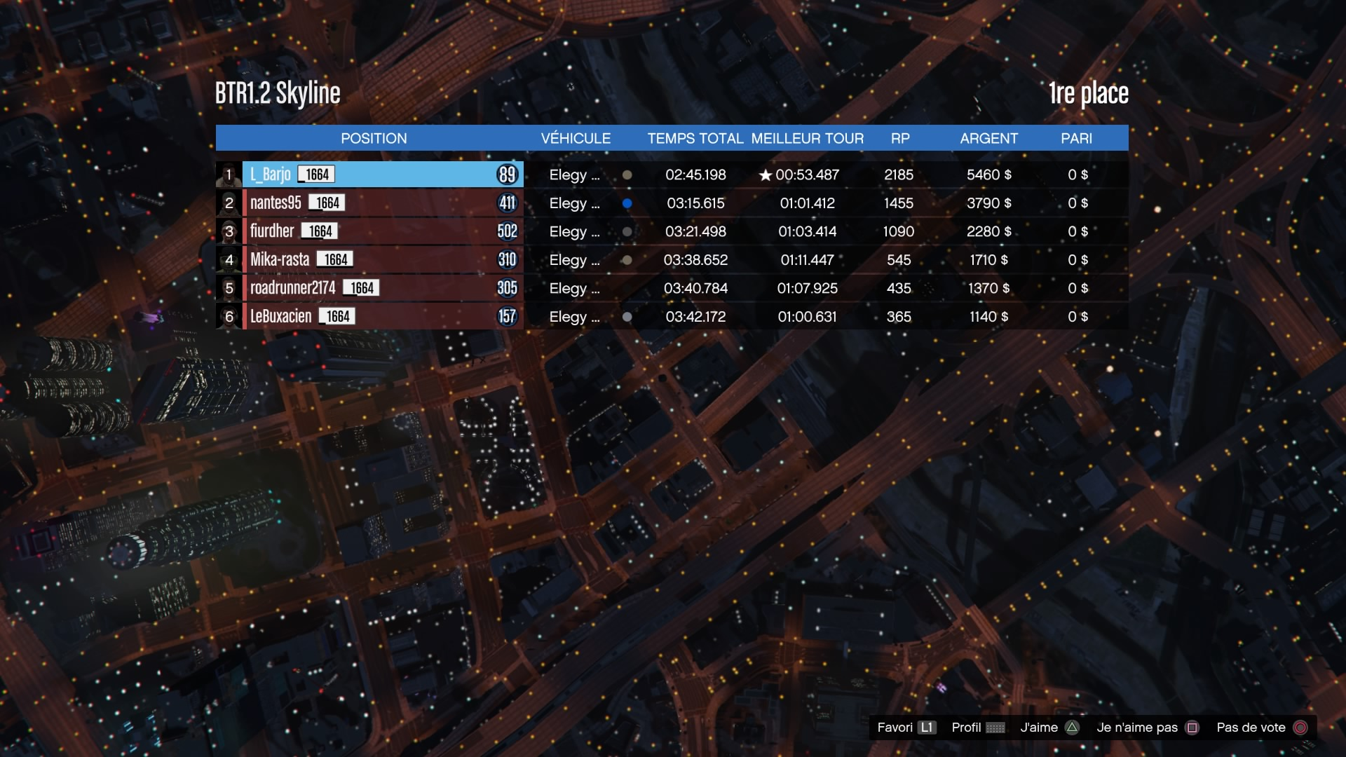 [EVENT][GTA] Born To Race 3 (1/03/17) - Page 2 170109034851391301