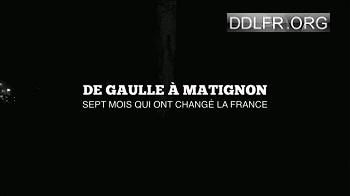 De Gaulle à Matignon Sept Mois Qui Ont Change La France