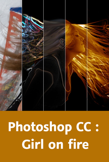 Video2Brain – Photoshop CC – Atelier Girl on fire
