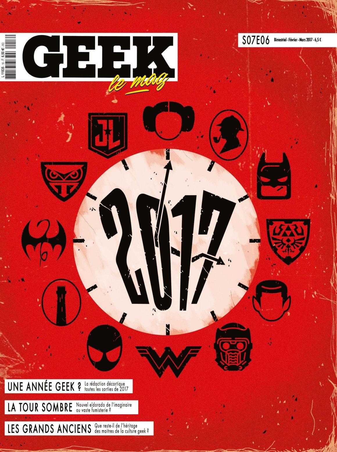 Geek N°16 - Février/Mars 2017