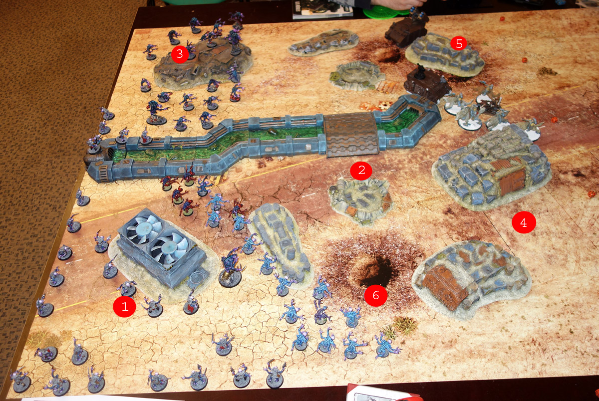 Genestealer Cults Vs. Space Wolves (1000 pts 0 PM) 170121100920177344