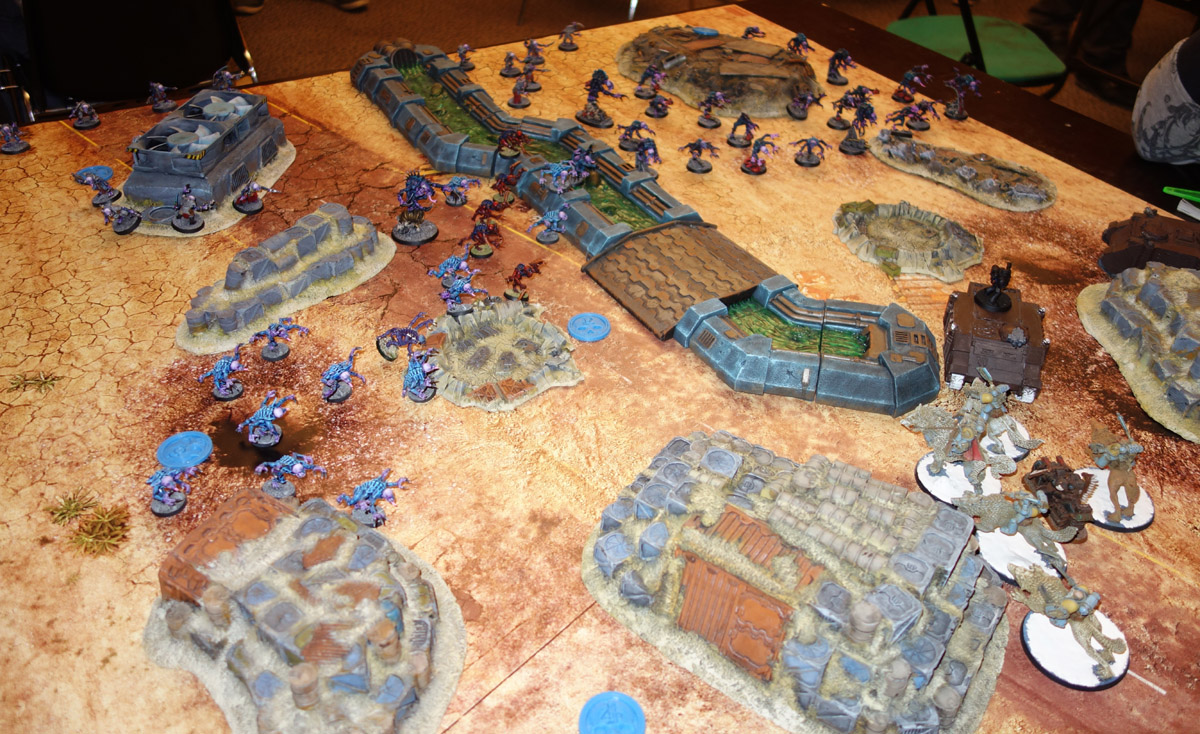 Genestealer Cults Vs. Space Wolves (1000 pts 0 PM) 170121101714141645