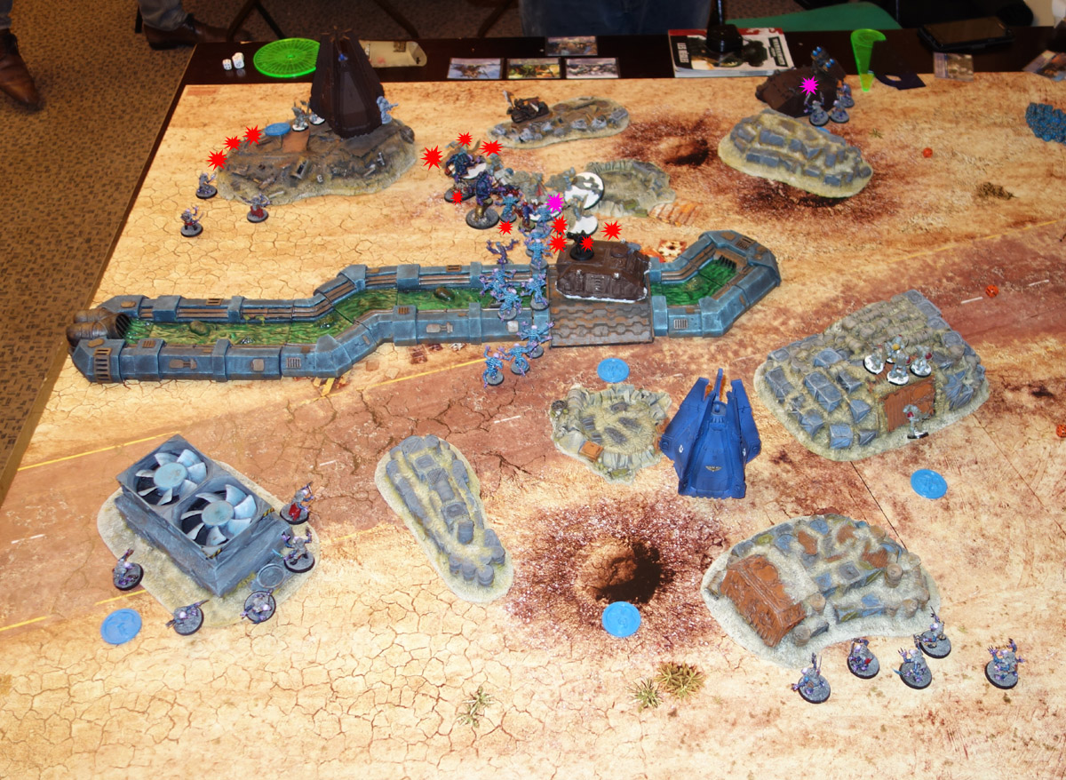 Genestealer Cults Vs. Space Wolves (1000 pts 0 PM) 170121112017584964
