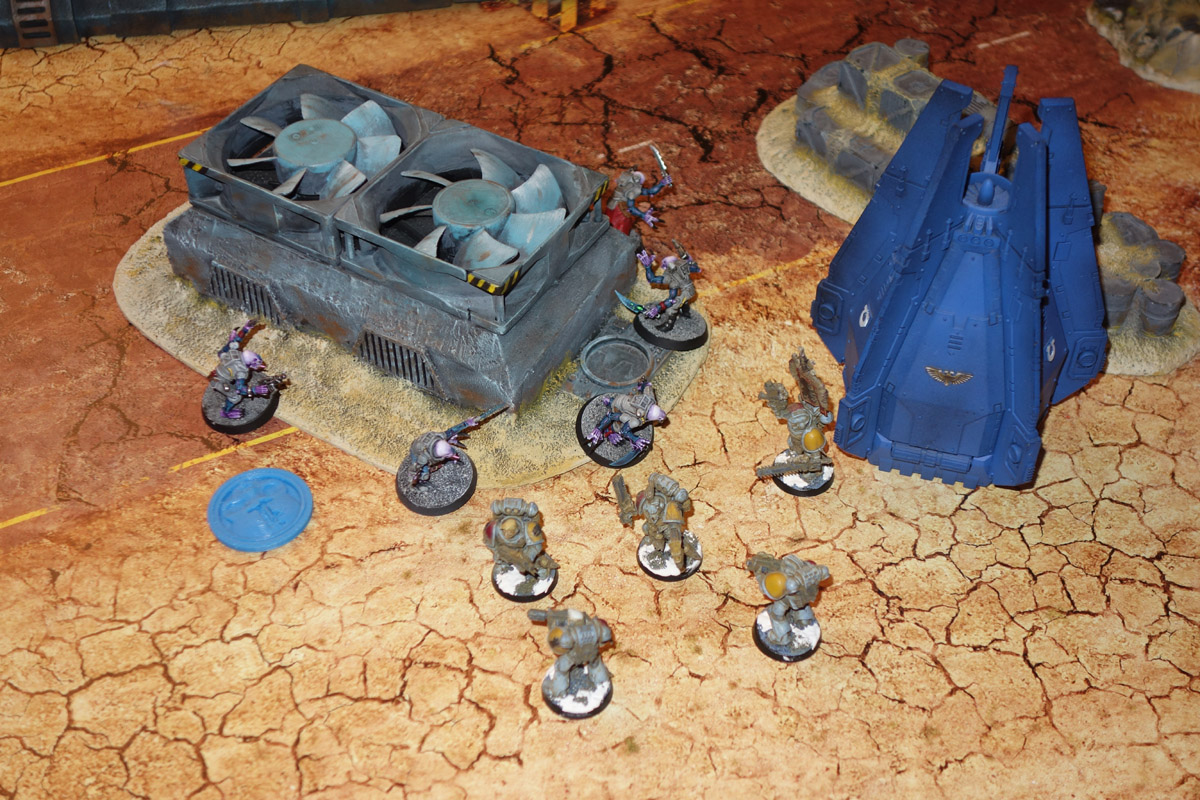 Genestealer Cults Vs. Space Wolves (1000 pts 0 PM) 17012111250020327