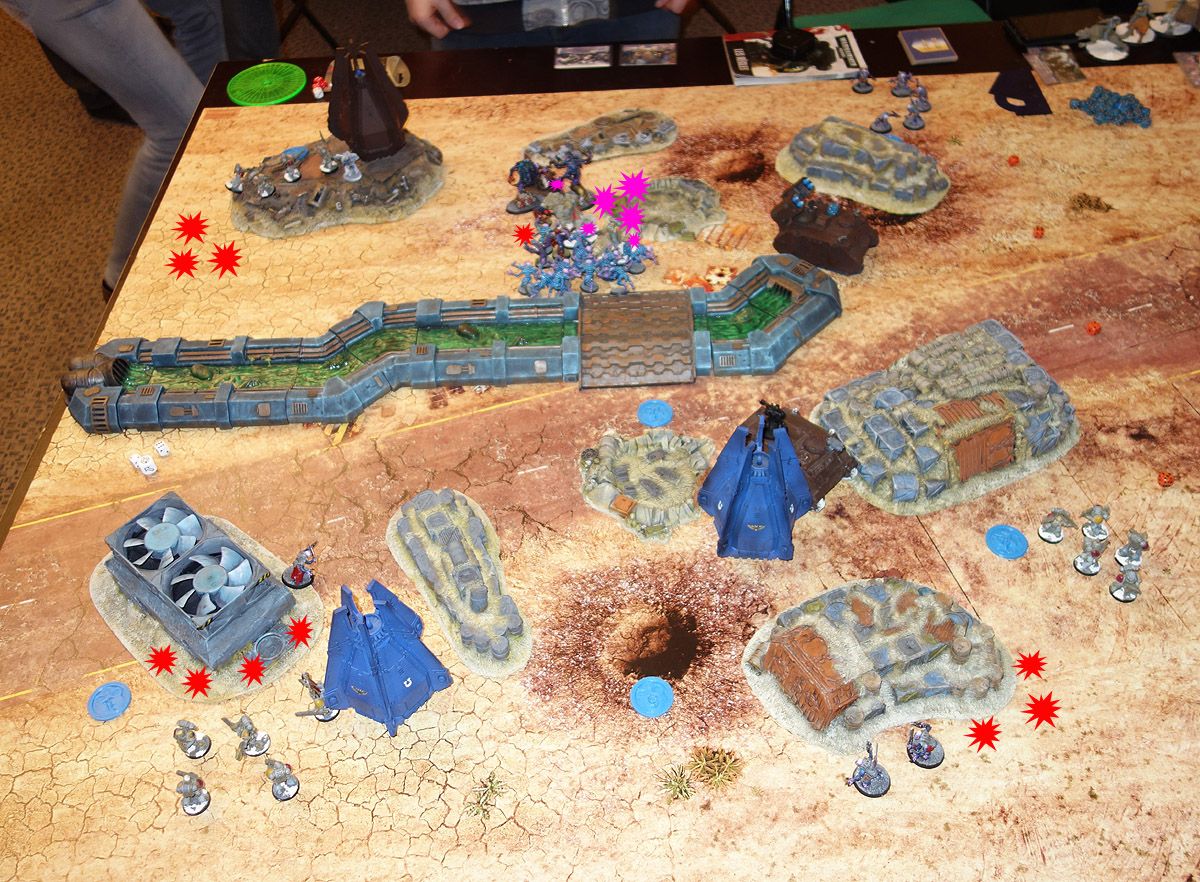 Genestealer Cults Vs. Space Wolves (1000 pts 0 PM) 170121113806440705