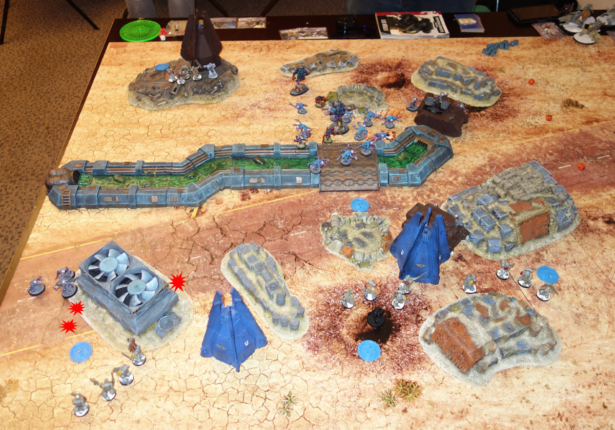 Genestealer Cults Vs. Space Wolves (1000 pts 0 PM) 170121115227956744
