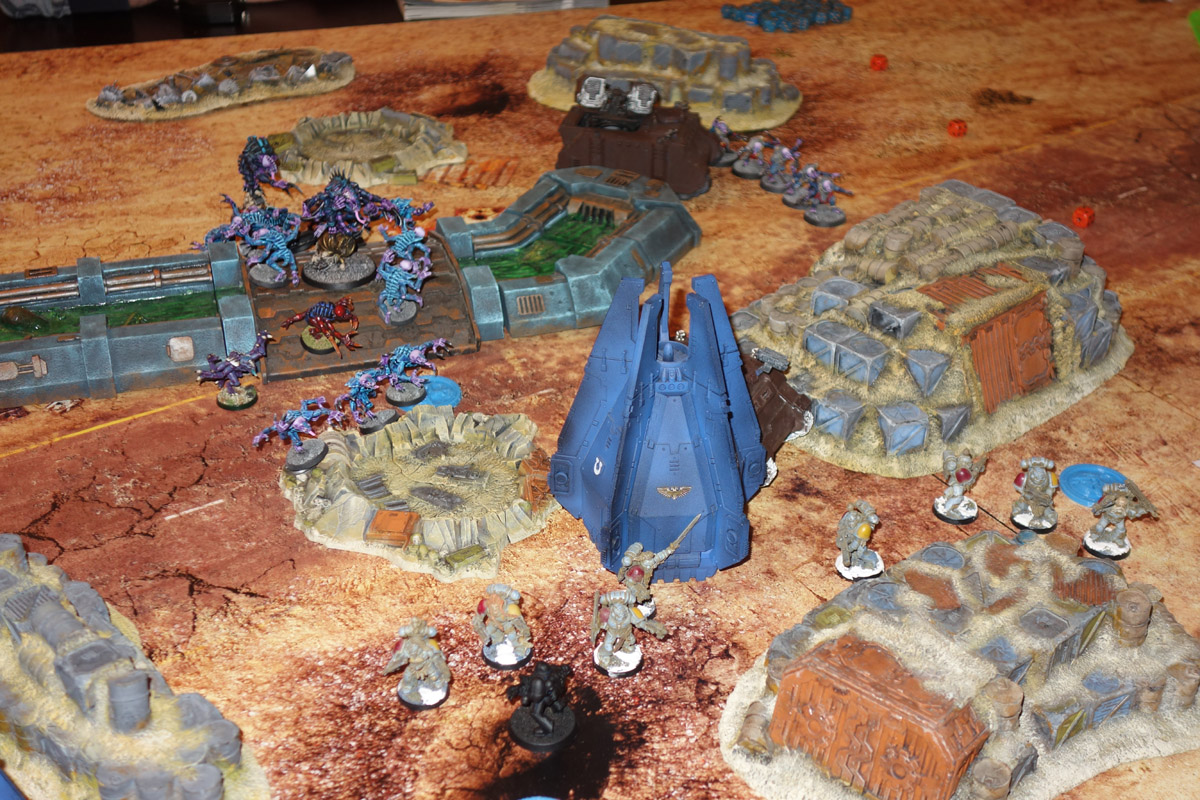 Genestealer Cults Vs. Space Wolves (1000 pts 0 PM) 170121120255396525
