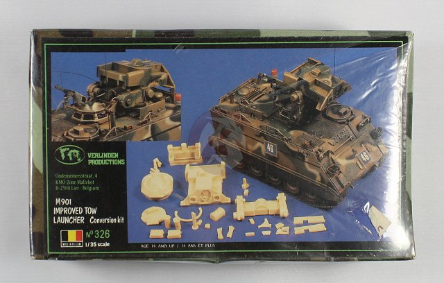 M113 / M109 Tow, une conversion en résine Verlinden au 1/35, base Tamiya 170122123444754253