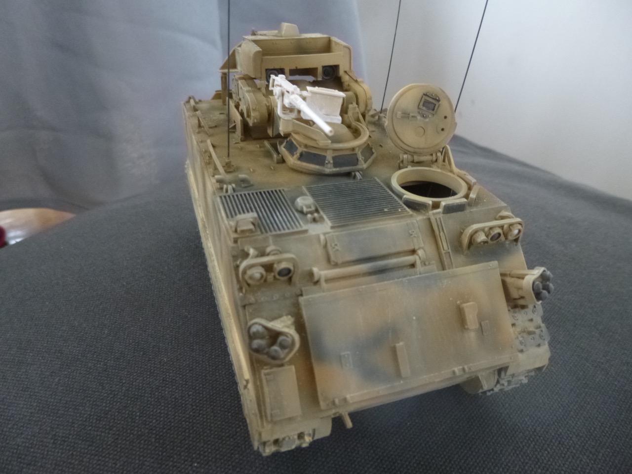 M113 / M109 Tow, une conversion en résine Verlinden au 1/35, base Tamiya 170123124057445203