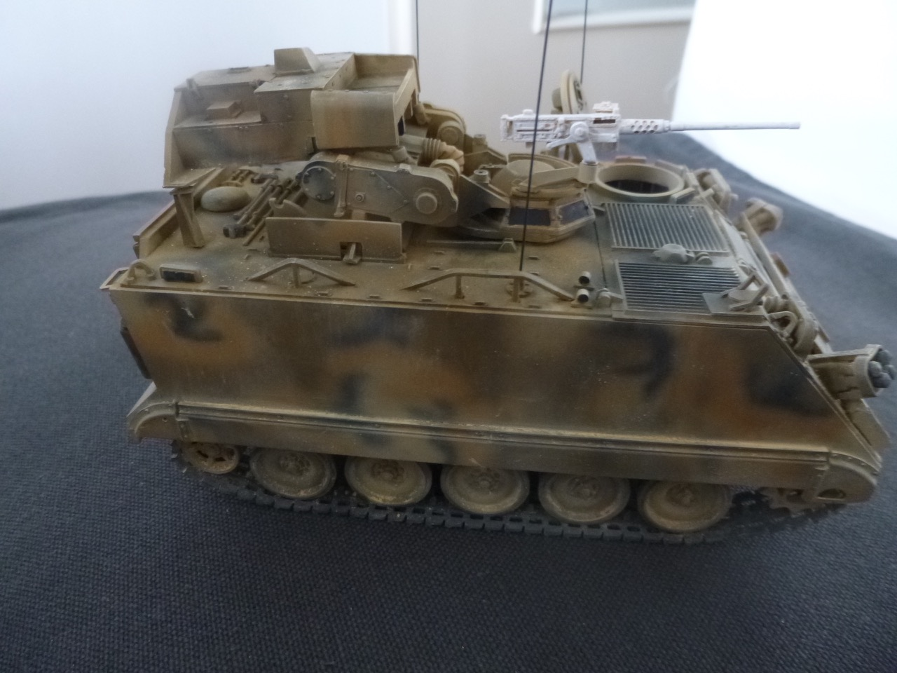 M113 / M109 Tow, une conversion en résine Verlinden au 1/35, base Tamiya 170123124111229862