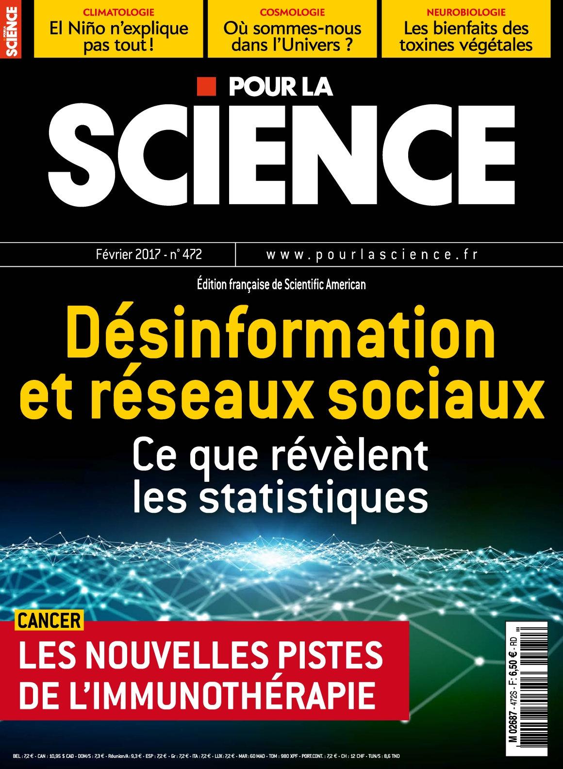 Pour la Science N°472 - Février 2017