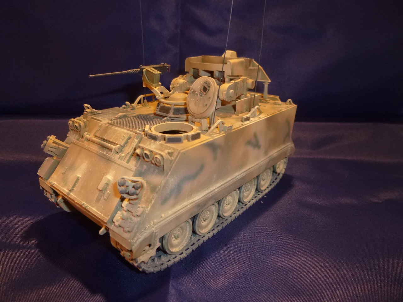 M113 / M109 Tow, une conversion en résine Verlinden au 1/35, base Tamiya 170125104938882089