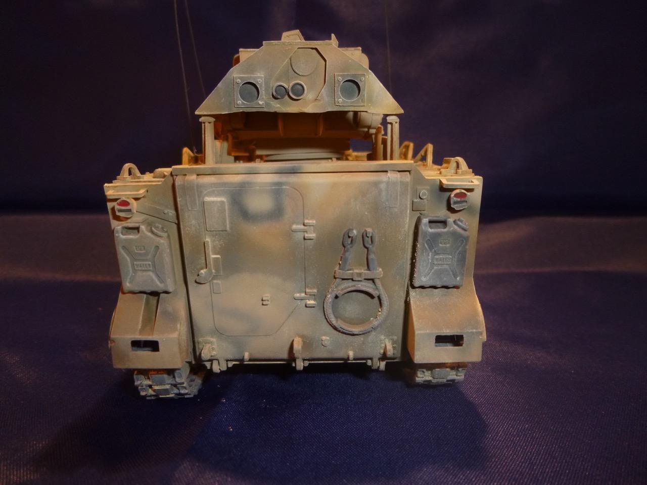 M113 / M109 Tow, une conversion en résine Verlinden au 1/35, base Tamiya 170125105003175717