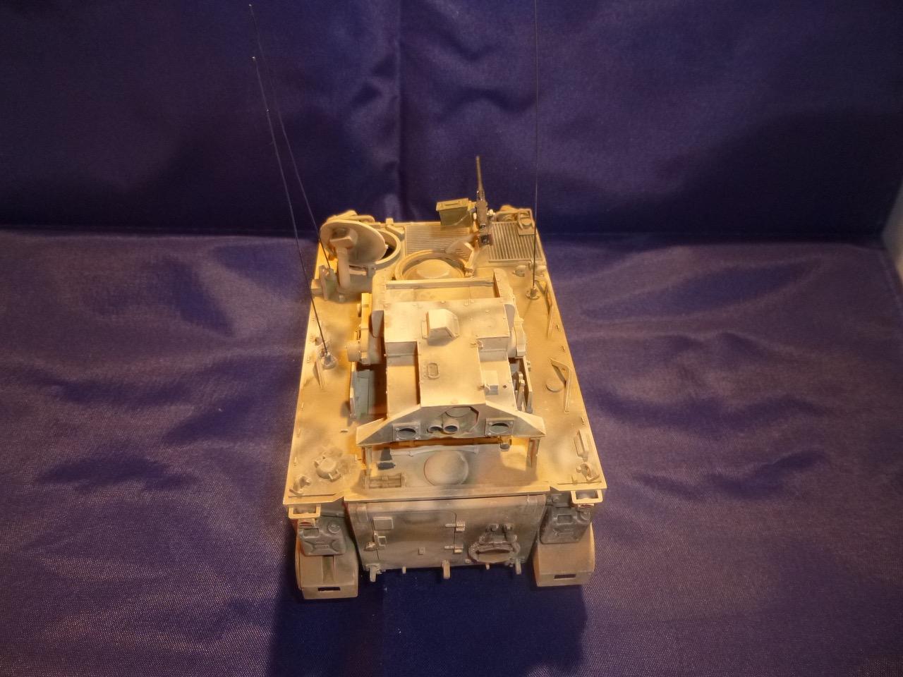 M113 / M109 Tow, une conversion en résine Verlinden au 1/35, base Tamiya 170125105011654308