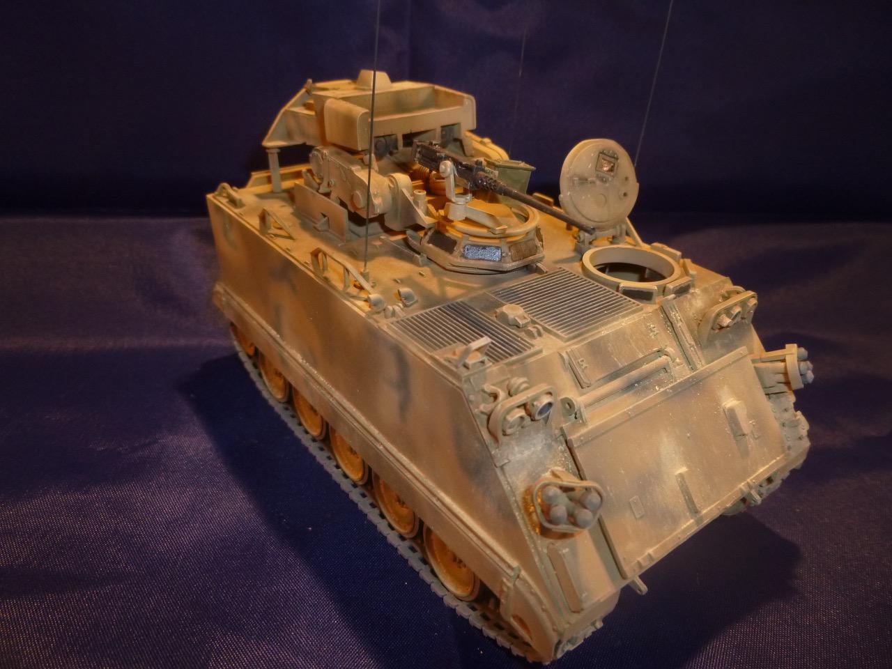 M113 / M109 Tow, une conversion en résine Verlinden au 1/35, base Tamiya 17012510502187899
