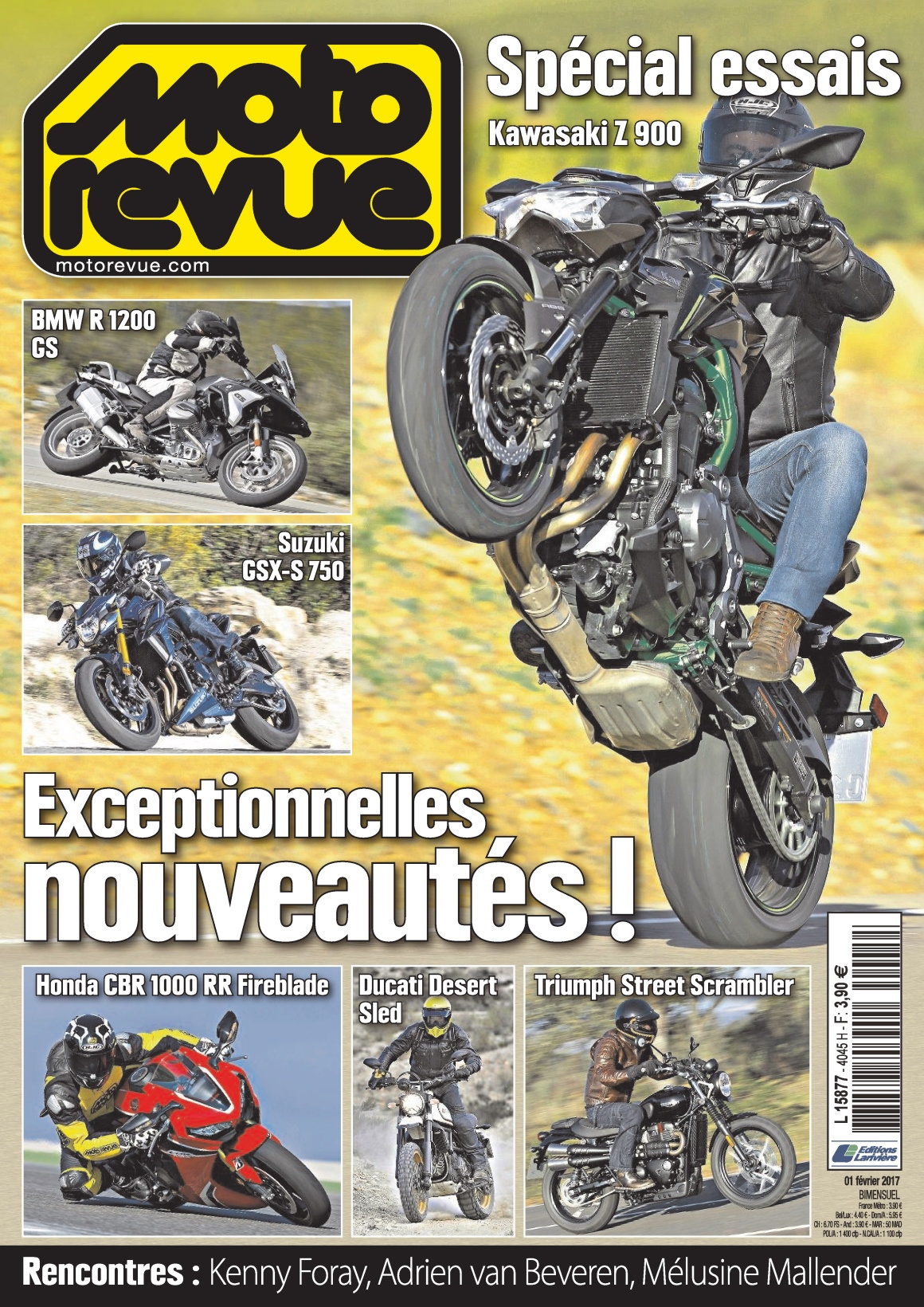 Moto Revue N°4045 - 1 Février 2017
