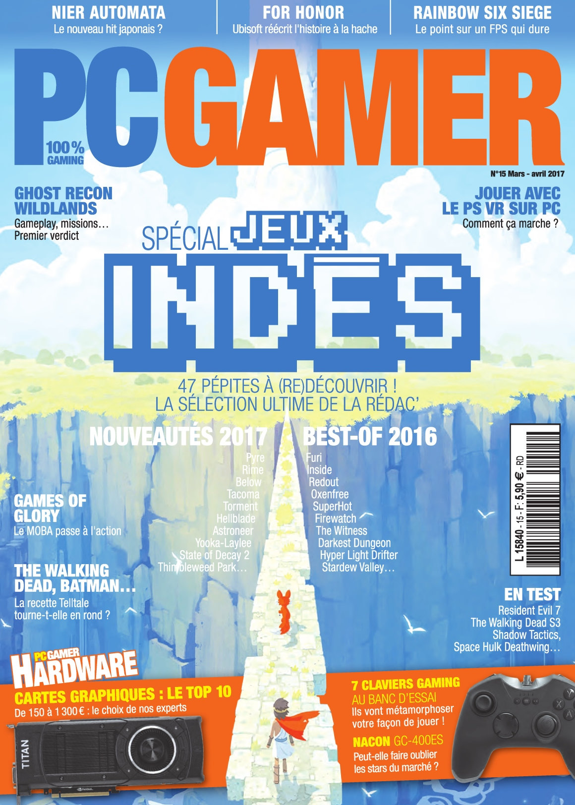 PC Gamer N°15 - Avril 2015