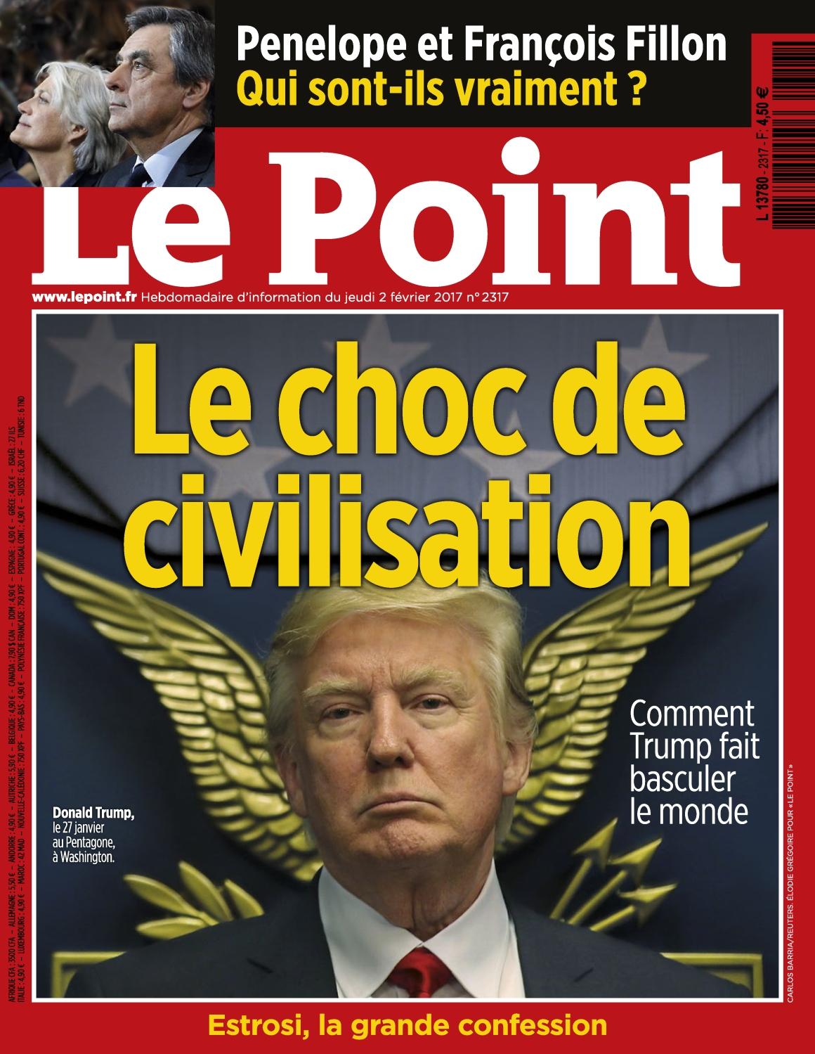 Le Point N°2317 - 2 au 8 Février 2017