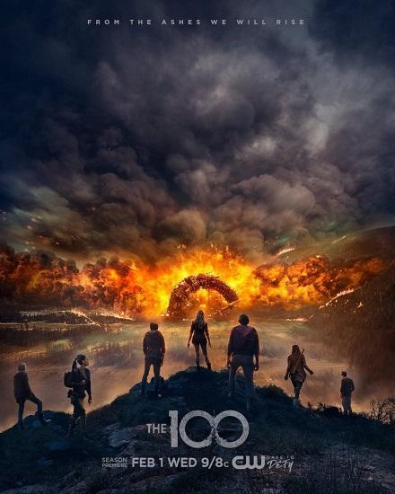 The 100 / The Hundred {Sezon 04} (2017) pl