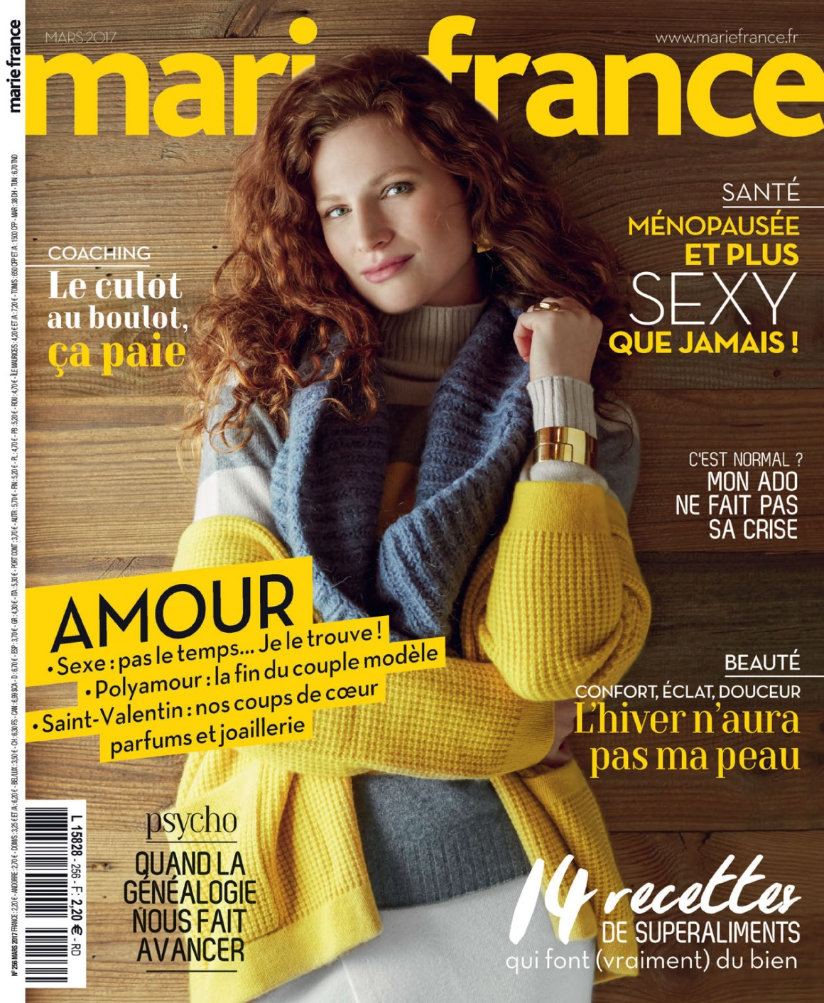 Marie France N°256 - Mars 2017