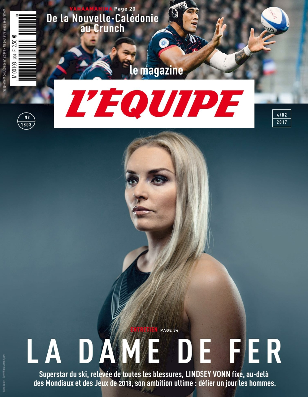 L'Equipe Magazine N°1803 - 4 Février 2017