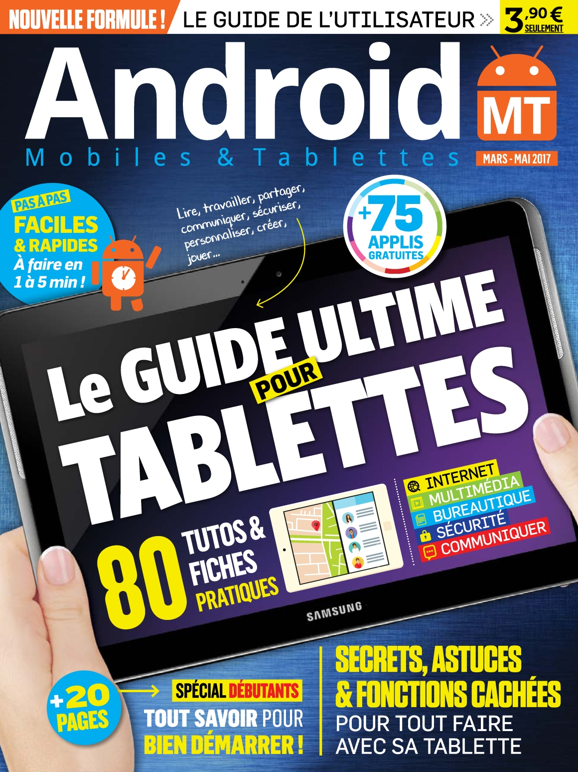 Android Mobiles & Tablettes N°36 - Mars/Mai 2017