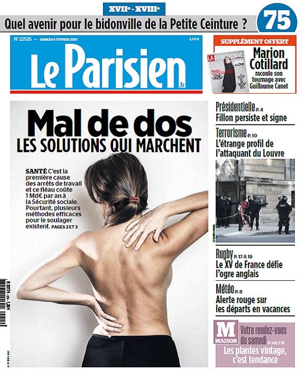 Le Parisien Du Samedi 4 Février 2017