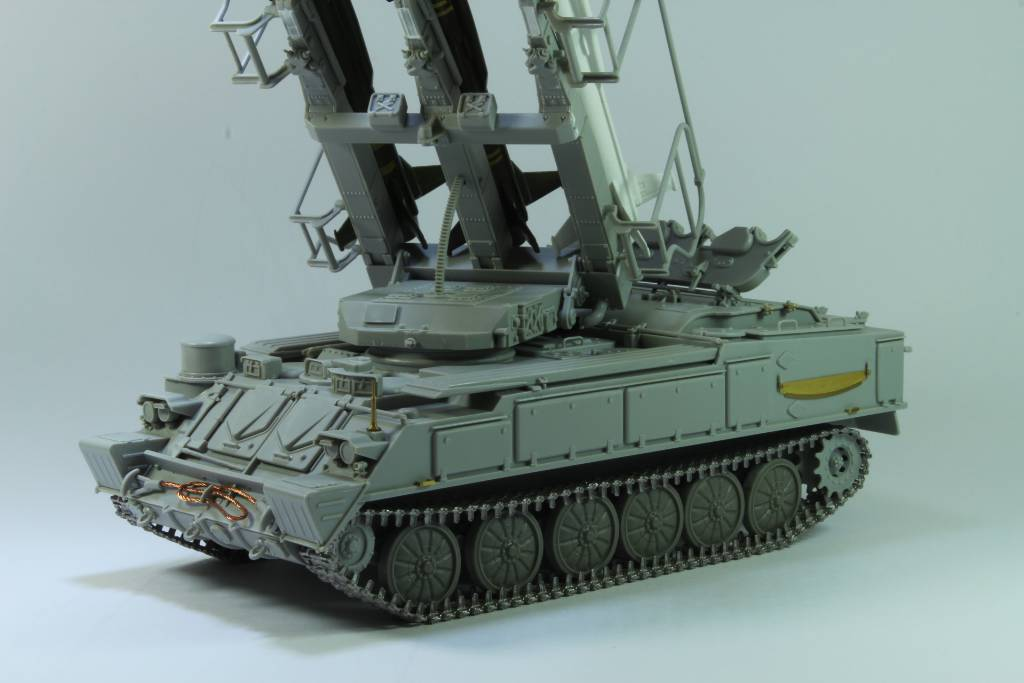 Montage Russia SA-6 Gainful ( 2K12 Kub ) Trumpeter 1/35 170204050216796938