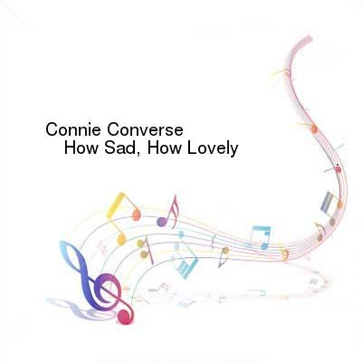 SceneHdtv Download Links for Connie_Converse-How_Sad_How_Lovely-REISSUE-CD-FLAC-2015-NBFLAC