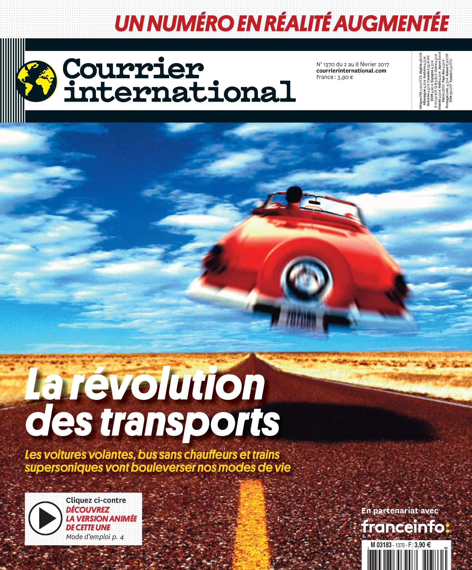 Courrier international N°1370 - 2 au 8 Février 2017